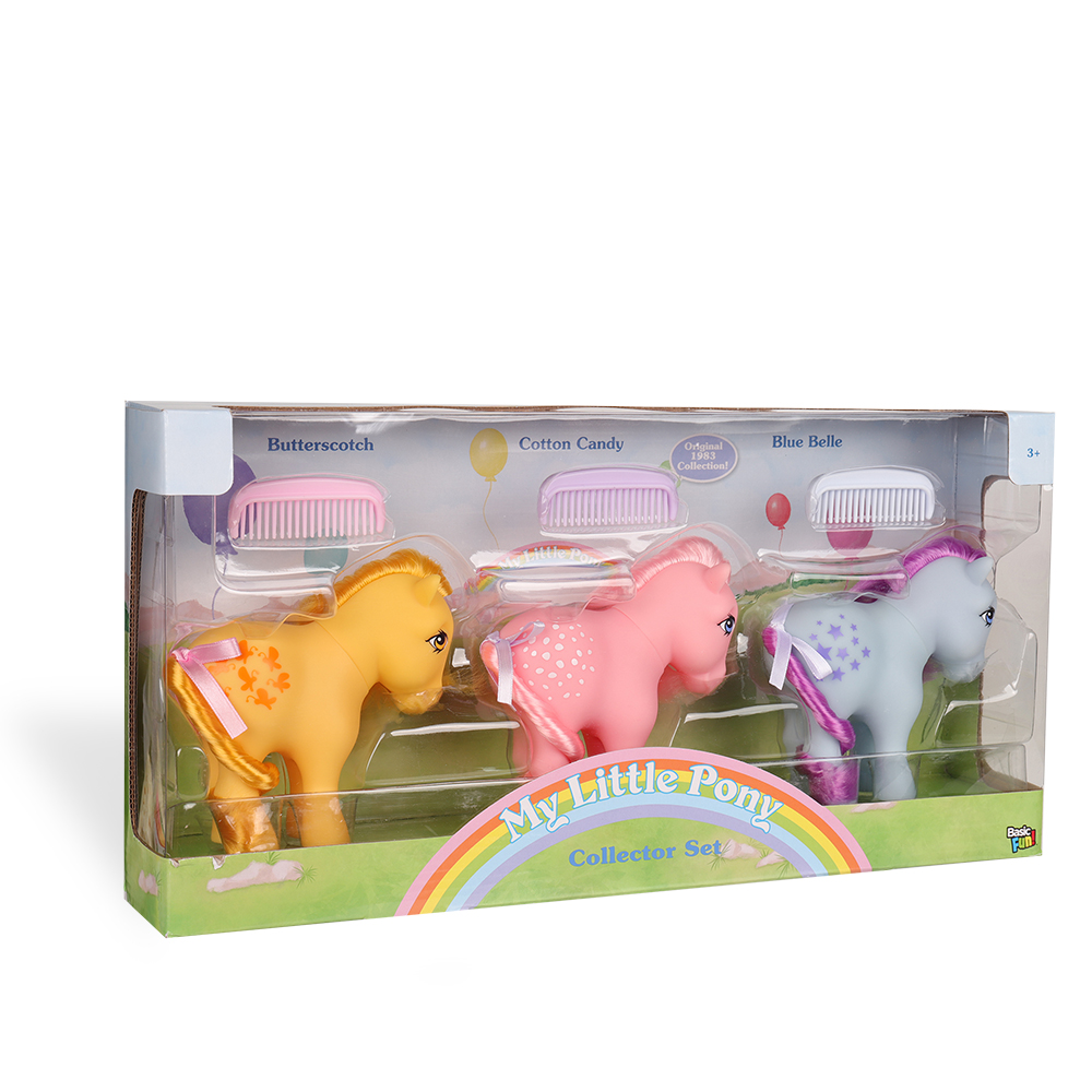 My Little Pony Classic Collector 3 Pack - Wave 1