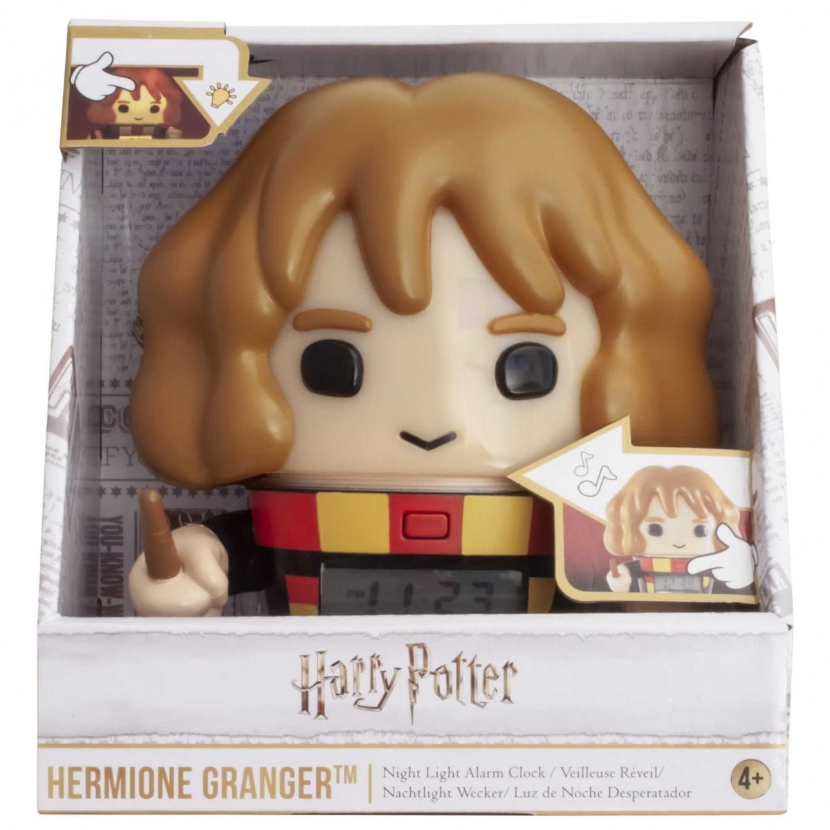 BulbBotz Harry Potter - Hermione Clock (5.5 inch)