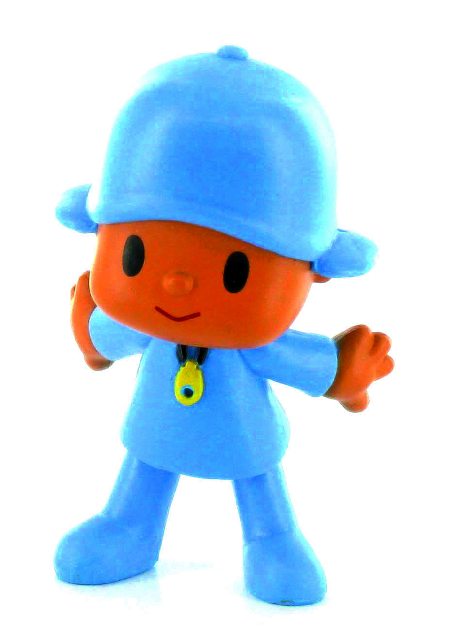 Pocoyo opened arms